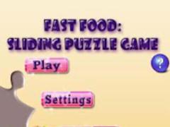 Fast Food Sliding Puzzle Game 1.6 Screenshot