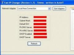 Fast IP Changer for Windows  Screenshot