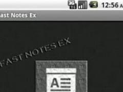 Fast Notes Ex 1.0 Screenshot