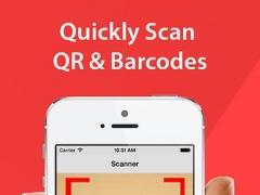 Fast QR Code Reader and Barcode Scanner 1.0.0 Screenshot