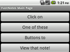 FastNote 6.0 Screenshot