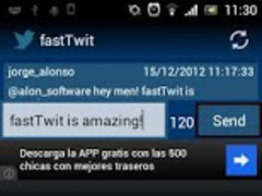 fastTwit for Twitter 1.2 Screenshot