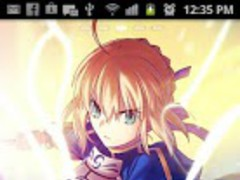 Fate Zero Saber Theme 1.0 Screenshot