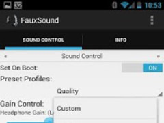 FauxSound Sound Control 1.5.6 Screenshot