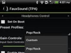 FauxSound Audio/Sound-TPA 1.0.5 Screenshot