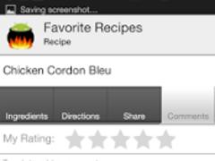 Favorite Recipes 2.6.2 Screenshot