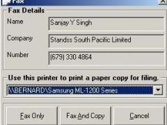 Fax4Word 1.1 Screenshot