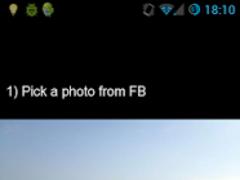 FB photo save 1.0.7 Screenshot