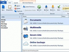 Review Screenshot - FBackup is a powerful free backup software