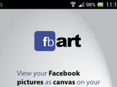 fbART: AR Canvas view & print 2.0 Screenshot