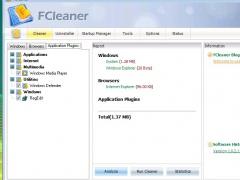 FCleaner Portable 1.3.1.621 Screenshot