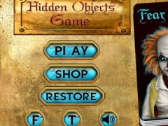 Fear Disnoary Hidden Objects Games 2.0 Screenshot