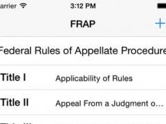 Federal Rules of Appellate Procedure (FRAP) 3.0 Screenshot