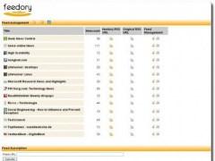 feedory  Screenshot