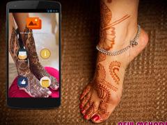 Feet Mehndi Designs 2016 1.0 Screenshot
