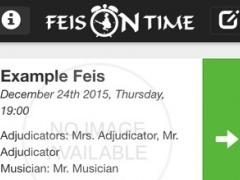 Feis On Time 1.0.1 Screenshot