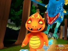 Felix the Fire Dragon – Train him How to Sprint in the Sunny Glade 1.0 Screenshot