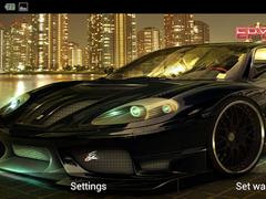Ferrari live wallpaper 1.0 Screenshot