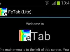 FeTab (Lite) 1.5 Screenshot