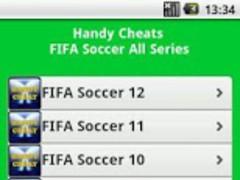 FIFA Soccer All Series Cheats 2.0 Screenshot