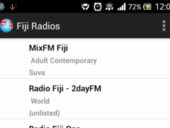 Fiji Radios 3.0 Screenshot