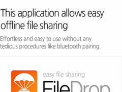 File Drop - Transfer & Sharing 1.0 Screenshot