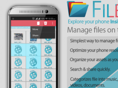 File Explorer and File Manager 1.0.7 Screenshot