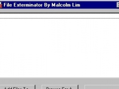 File Exterminator 1.0 Screenshot