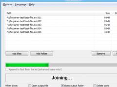 File Joiner 2.4.1 Screenshot