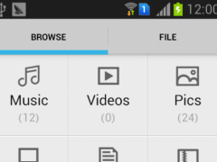 File Manager:Efficient 1.2 Screenshot