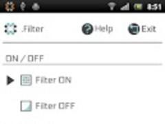 .Filter 3.0.0 Screenshot