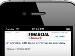 Financial Chronicle for iPhone 1.4 Screenshot