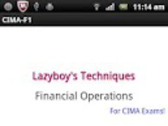 Financial Operations CIMA F1 1.1 Screenshot