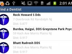 Find a Dentist (iDentist) 1.1 Screenshot