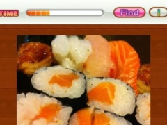 Find Differences Japanese Food 22 Screenshot