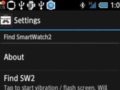 Find for SmartWatch2 1.1 Screenshot
