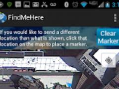 Find Me Here (Send GPS) 1.6 Screenshot