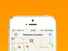 Finder & Tracker for Pokemon Go 1.0 Screenshot