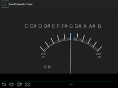 Fine Chromatic Tuner 2.00 Screenshot