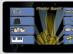 Finger Band Pro HD for Tablets 1.01 Screenshot
