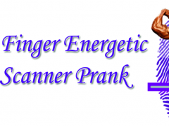 Finger Energetic Scanner prank 1.0 Screenshot