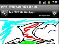 Finger Painting - Dinosaur  Screenshot