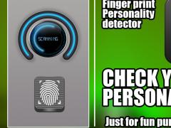 finger personality test prank 1.0 Screenshot