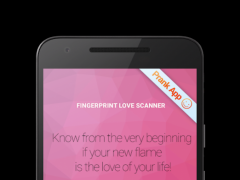 Fingerprint Love Scanner Prank 1.0.2 Screenshot