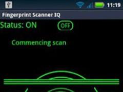 Fingerprint Scanner IQ 1.0 Screenshot