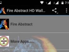 Fire Abstract HD Wallpaper 1.0 Screenshot