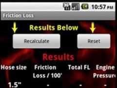 Fire Calculator 5.0 Screenshot