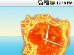 Fire Clock XL 1.1 Screenshot