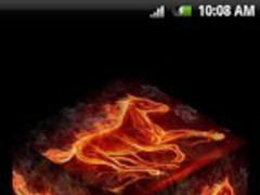Fire Horse 3D Live Wallpaper 1.0 Screenshot