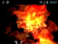 Fire Magic Live Wallpaper LITE 1.2 Screenshot